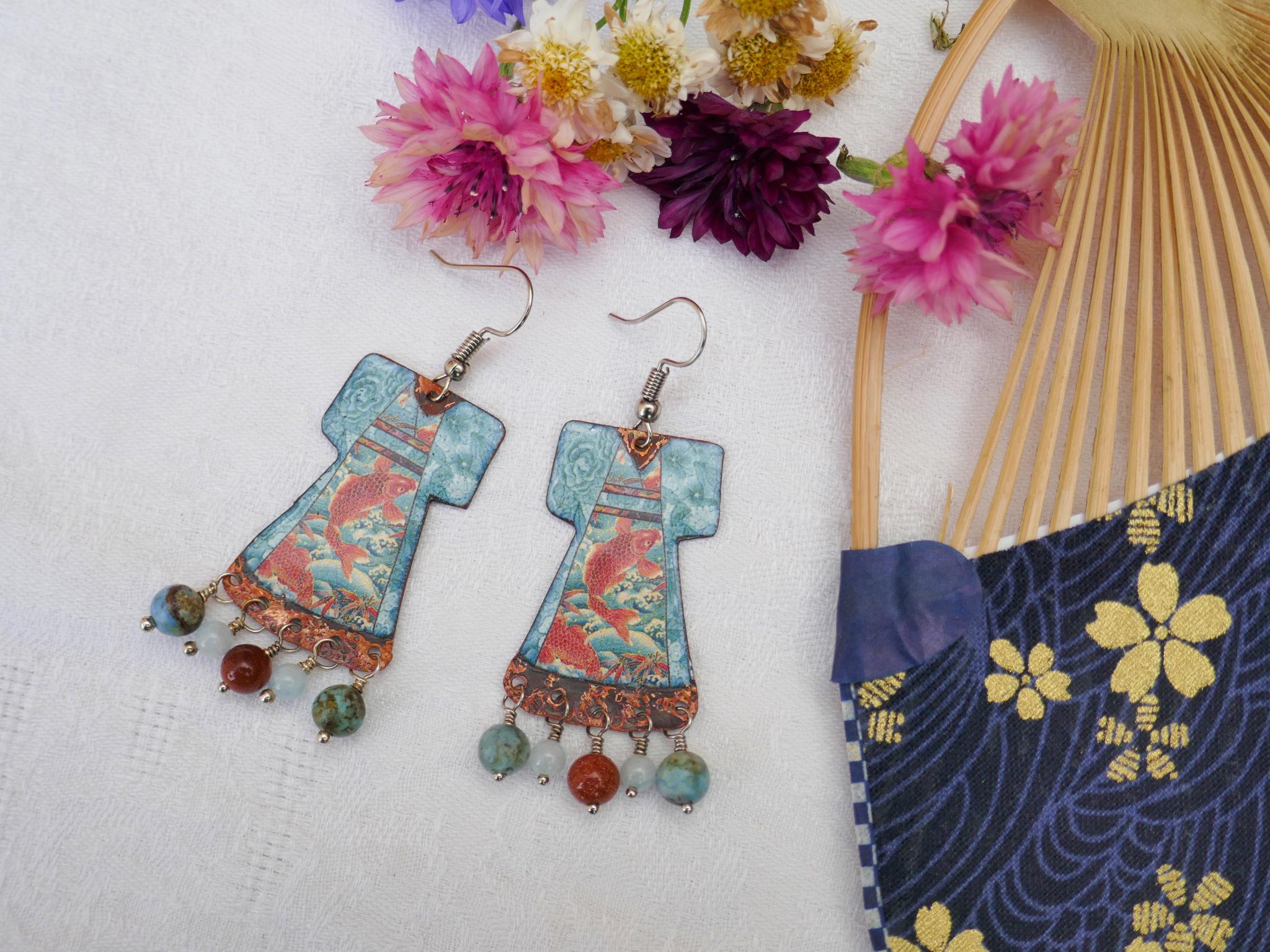 Boucles collection japonaise