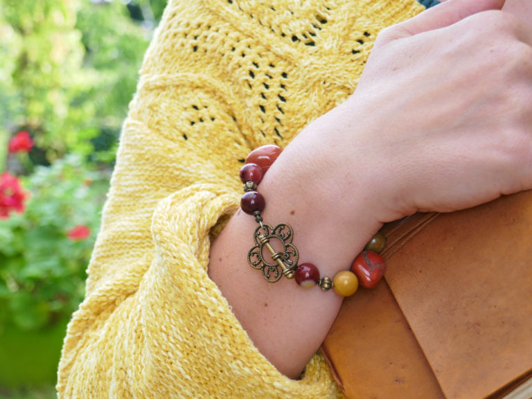 Bracelet de jaspe